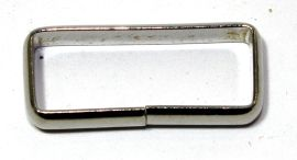 Schlaufe 25mm Stahl vernickelt 14-6004