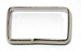Schlaufe 25mm, hohe Form, Stahl vernickelt 14-6009