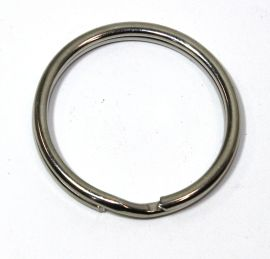 Schlüsselring Stahl vernickelt 24 mm 14-3032