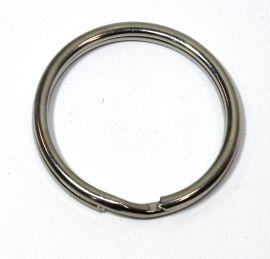 Schlüsselring Stahl vernickelt 30 mm 14-3035