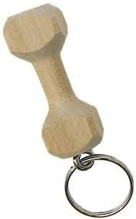 Schlüsselanhänger Apportierholz
