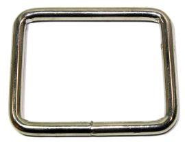 Vierkantring geschweisst vernickelt 50 mm 14-5006