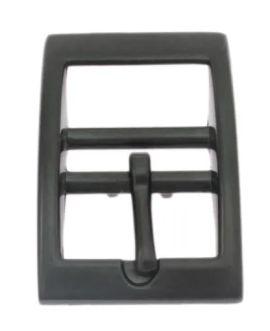 Doppelstegschnalle schwarz 20 mm 11-5012