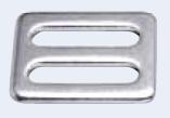 Schieber / Gurtschnalle 25 mm rostfreier Stahl V2A 16-4006