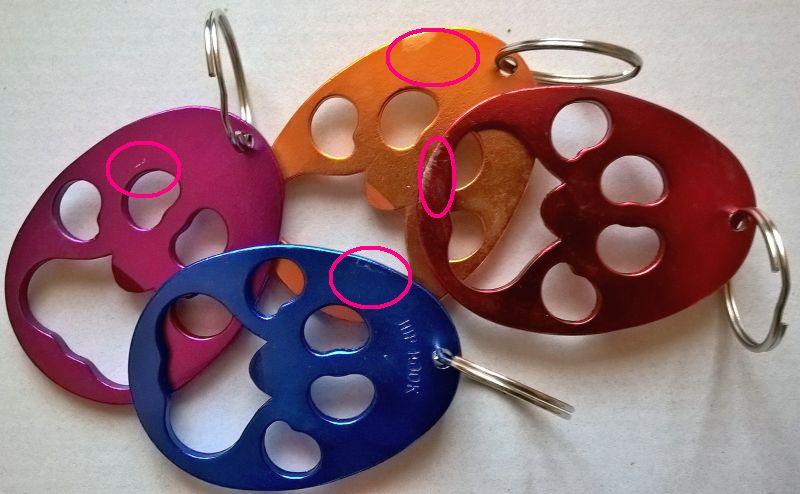 2. Wahl Schlüsselanhänger/Flaschenöffner Pfote