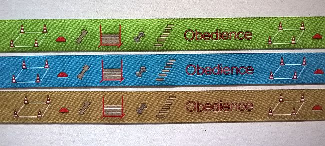 Webband Rest Obedience beige 1,65 Meter