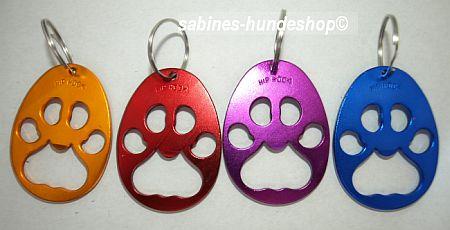 Schlüsselanhänger/Flaschenöffner Pfote