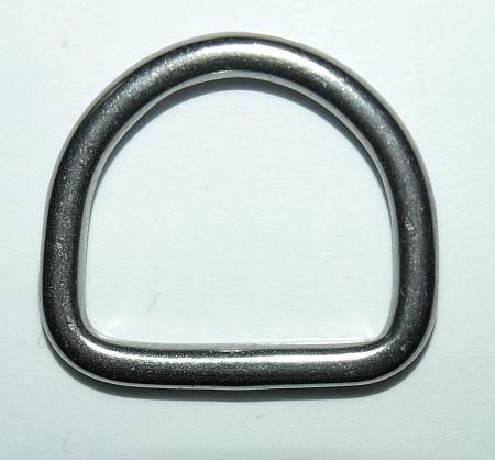 D-Ring 25 mm Edelstahl