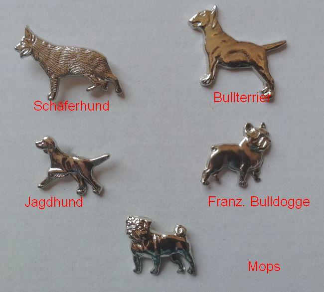 Ziernieten  Jagdhund