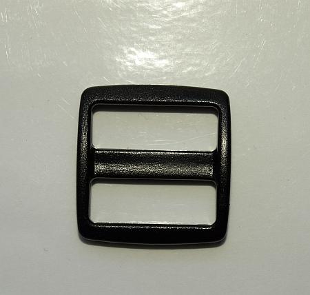 Schieber Kunststoff 16 mm mit breitem Durchlass