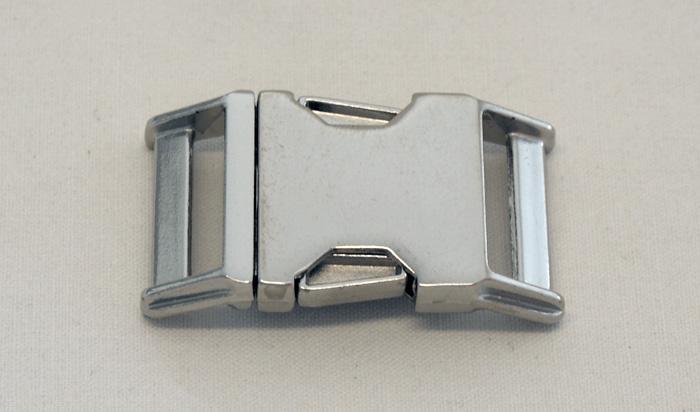 Metall Steckschnalle 30 mm Zinkdruckguss